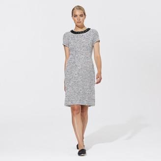 Karl Lagerfeld Paris Necklace Detail Dress