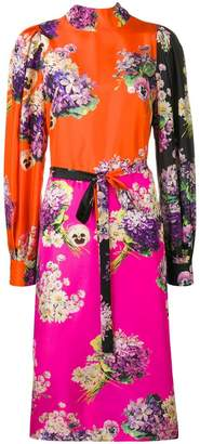 Circus Hotel floral print midi dress