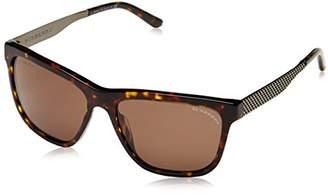 Burberry Women's BE 4163 Wayfarer Sunglasses,Tortoise frame, Brown lens