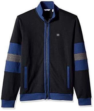 Calvin Klein Men's Lightweight Zip Up Sweater