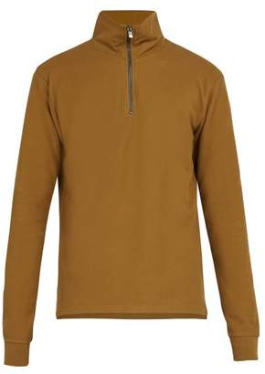 Phipps - Ribbed Knit Cotton Sweater - Mens - Brown