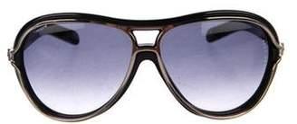 Reed Krakoff Gradient Aviator Sunglasses
