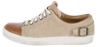 Belstaff Leather Low-Top Sneakers