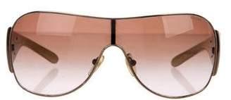 Prada Logo Shield Sunglasses