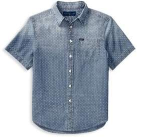 Ralph Lauren Little Boy's& Boy's Chambray Collared Shirt