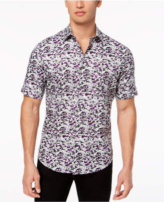 Alfani Men's Geo-Print Shirt, Created for Macys