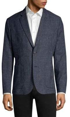 J. Lindeberg Hopper Stretch Wool Suit Jacket