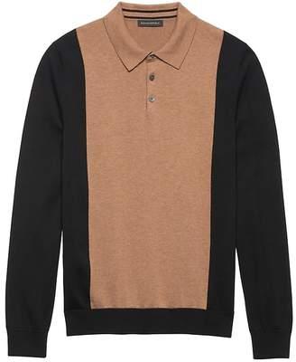 Banana Republic BR x Kevin Love | SUPIMA® Cotton Sweater Polo