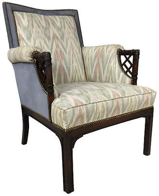 One Kings Lane Vintage Chinese Chippendale Faux-Bamboo Chair