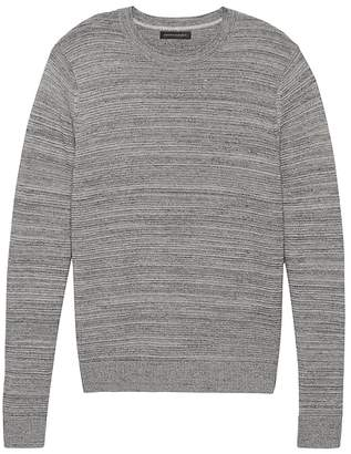 Banana Republic Cotton Crew-Neck Sweater