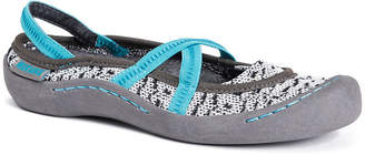 Muk Luks Erin Womens Slip-On Shoes Strap Closed Toe