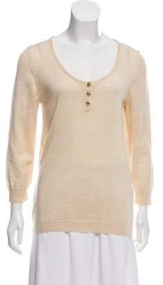 Chloé Wool Rib Knit Sweater
