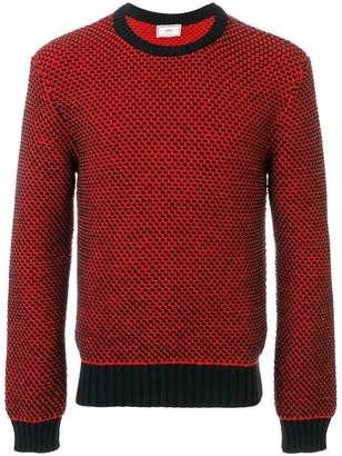 Ami Alexandre Mattiussi Crewneck Birdseye Stitch Sweater