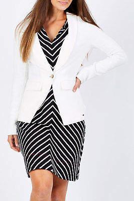 Hatley NEW Womens Jackets Equestrian Blazer Cream