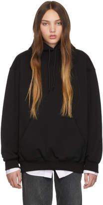 Balenciaga Black Logo Hoodie