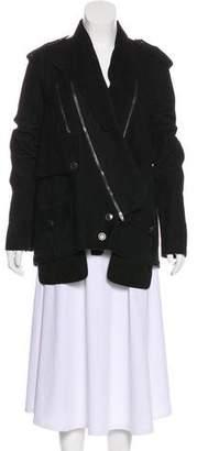 Alexander Wang Short Suede Coat