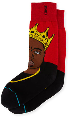 Stance Notorious B.I.G. Socks, Red $16 thestylecure.com