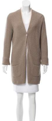 Bruno Manetti Cashmere Long Sleeve Cardigan