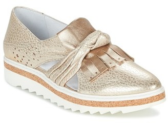 Regard RASTAFA women's Loafers / Casual Shoes in Gold