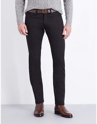 Ralph Lauren Purple Label Slim-fit tapered jeans