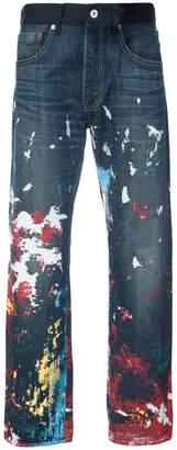Junya Watanabe x Carhartt paint splatter jeans