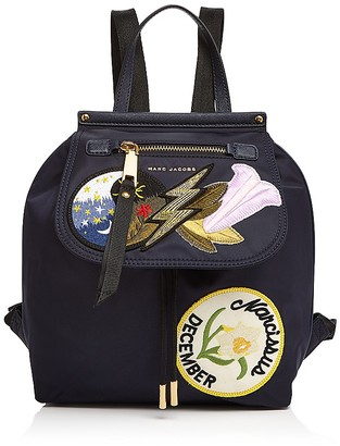 MARC JACOBS Embellished Zip Nylon Backpack $395 thestylecure.com