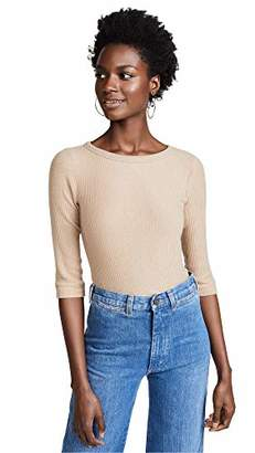 Three Dots Women's QQ4207 Brushed Sweater 3/4 SLV tee