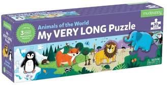 Mudpuppy My Very Long Animals of the World Puzzle