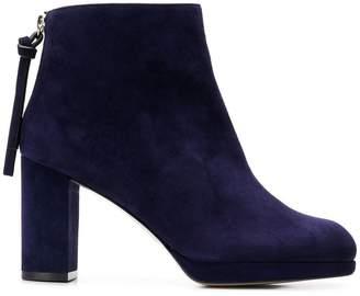 Stuart Weitzman round toe boots