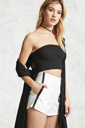 Forever 21 Contemporary Contrast Shorts