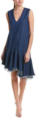 Do & Be DO+BE Do+Be Denim Drop-Waist Dress