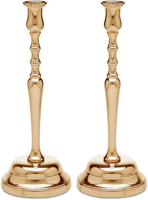 Godinger Lighting by Design 2-Pc. Metal Candlestick Set