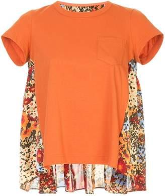 Sacai panelled-back T-shirt