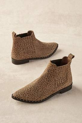 Soft Surroundings Distressed Leopard Print Booties