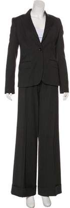 Dolce & Gabbana Peak-Lapel Mid-Rise Pantsuit