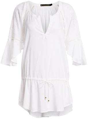Hermanny Vix By Paula White Embroidered Tunic