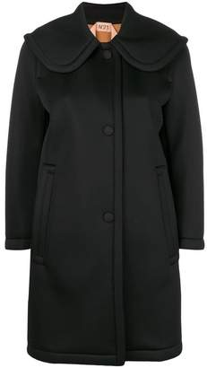 No.21 single breasted coat