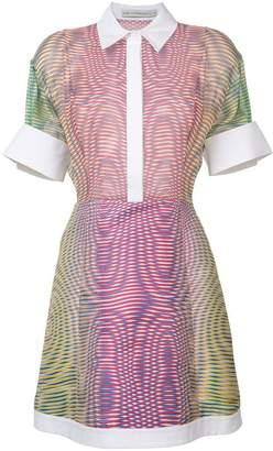 Mary Katrantzou dégradé stripe dress