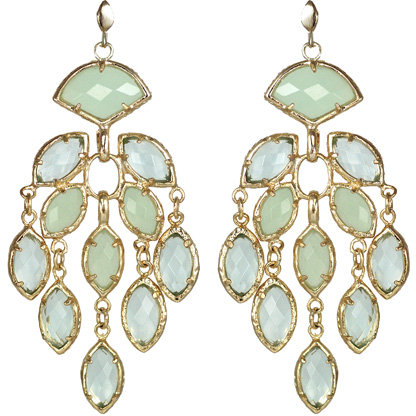 Kendra Scott I Do Gwen Chandelier Earrings in Aster