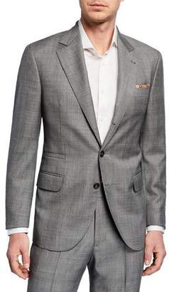 Brunello Cucinelli Men's Tonal Plaid Super 110s Wool Two-Piece Suit