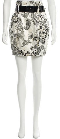 3.1 Phillip Lim 3.1 Phillip Lim Floral Print Mini Skirt
