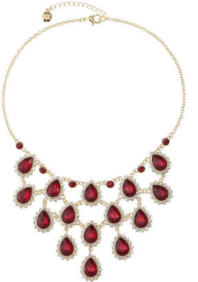 MONET JEWELRY Monet Jewelry Womens Red Statement Necklace