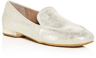 Donald J Pliner Women's Honey Tumbled Leather & Patent Leather Loafers