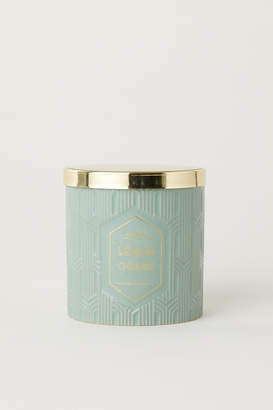 H&M Scented candle in holder