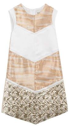 Kenzo 2-6Y Gold Dress