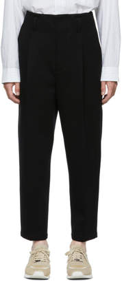 3.1 Phillip Lim Black Bonded Trousers