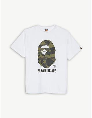 A Bathing Ape Bape b ss camo logo ape tee