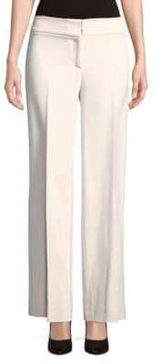 Carolina Herrera Pleated Wide-Leg Pants