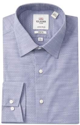 Ben Sherman Tailored Slim Fit Ring Dress Shirt