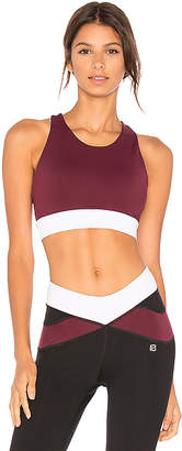Body Language Zara Sports Bra in Burgundy